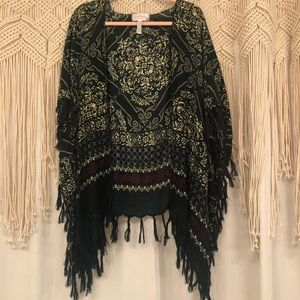 Free People Tassel Kimono